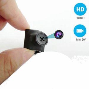 Botón de HD 1080P mini botón de la cámara HD cámara portátil de mano Mini DV DVR de detección de movimiento soporte de voz grabador de vídeo digital