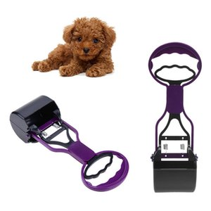 Pet Poop Scoop Long Handle Clean Pick Up Animal Waste Dog Puppy Cat Waste Picker Cleaning Tools Outdoor