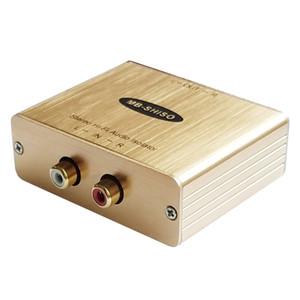 Isolateur audio haute fidélité Éliminateur de bruit RCA Isolateur de masse pour filtre audio stéréo
