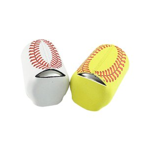 Baseball Can Manches en néoprène Beverage Coolers Sport Beer Cup Cover Bottle Holder Drinkware Livraison gratuite de WZW-YW3457
