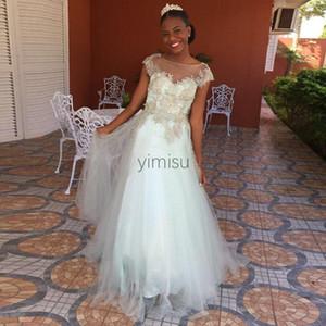 Menta Vestidos de quinceañera 2020 de la joya de la manga casquillo de oro Cuentas Apliques largos vestidos del partido formales de baile para Sweet 15 Vestidos de quinceañera