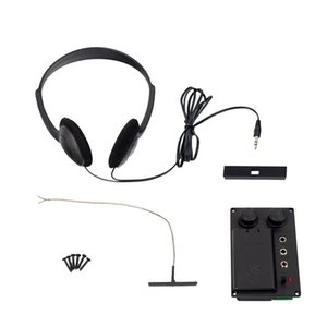 Electric Violin Piezo Pickup System With Headphone Cable Piezo Set