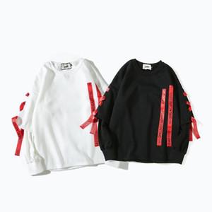 Männer Pullover Spring Street Fashion Style Tide Marke Herren Pullover Langarm-Kapuzenshirt der Männer und der Frauen Sweatshirts