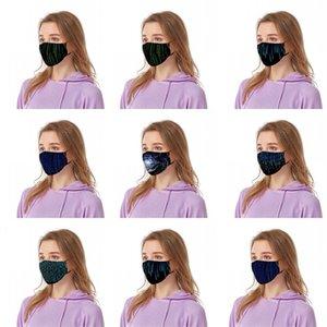 Code Mascherine Wiederverwendbare Respirator Staub Schwarz Gesichtsmasken Wissenschaft und Technologie Feelings Respirator Waschbar Kinder Erwachsene 6 47by C2
