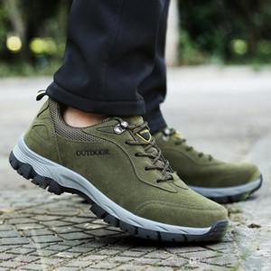 transfronterizo de 2019 Montañismo mmmk Cerdo ocho hombres de cuero de baja cuadrilla zapatos para caminar al aire libre mmmk cuero ocasionales