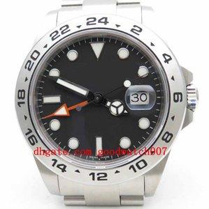 Mens Limited Edition BP Maker 42мм Проводник 216570 Нержавеющая сталь Азия 2813 белый черный циферблат Механизм Автоматическая Мужские спортивные часы