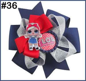 Les arcs de cheveux de poupée Livraison gratuite avec des clips suprises de bowsDolls fille arcs cheveux pour enfants fille Accessoires de cheveux
