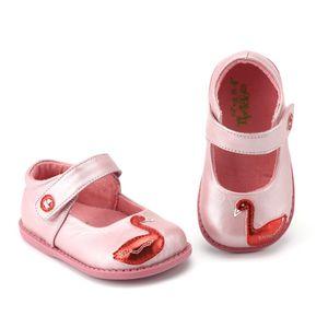 TipsieToes Marque Haute Qualité En Cuir Véritable Couture Enfants Enfants Chaussures Pour Garçons Et Filles 2018 Automne Nouvelle Arrivée Cygne
