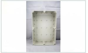 380x260x105mm 회색 ABS 플라스틱 IP65 방수 인클로저 PVC 정션 박스 전자 프로젝트 악기 케이스