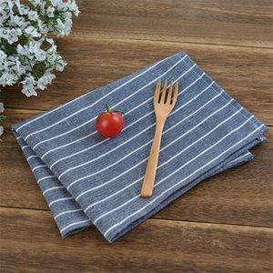 5 шт. Бытовая салфетка, коврик для еды, ткань искусства чистого хлопка прямоугольный хлопок пенька салфетка ткань контракта
