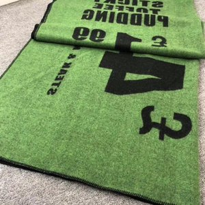 Marca de moda manta Lanza de punto de cachemir mezcla de ganchillo lana suave bufanda mantón caliente Sofá cama paño grueso y suave de punto H manta para la cama