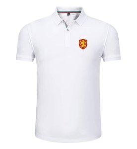 болгария 2020 весной и летом новый хлопок футбол рубашка поло мужская с короткими рукавами лацкане унисекс поло может DIY обычай мужской рубашки поло