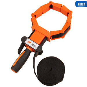 4M Nylon Material Straps Clip Multi Function Type Binding Multilateral Angle Woodworking Tool Clamp
