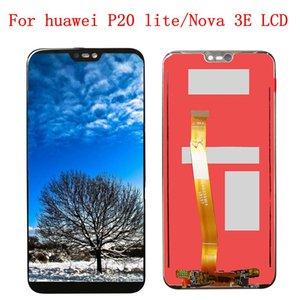 2280 * 1080 جودة شاشة LCD لهواوي P20 لايت / نوفا 3e شاشة عرض LCD لهواوي P20 لايت Digiziter الجمعية 5.84 شركة