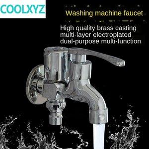 Agua-tap de Doble Uso de lavadora mop grifo piscina una y dos de boquilla multifuncional solo agua fría