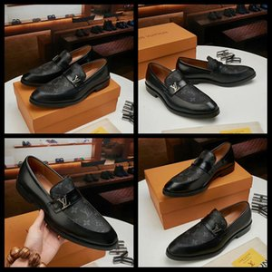 20SS мужские оксфорды кожа итальянский дизайн мода роскошные бренды двойной цвет офис формальные острым носом мужчины одеваются свадебные туфли