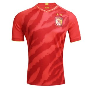 2020 2021 Guangzhou Evergrande Taobao fútbol jerseys 20 21 casa ZHENG ZH. Elkeson PAULINHO camiseta de fútbol Deportes S-2XL