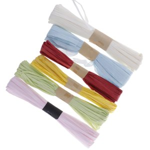 30m 1cm Paper Raffia Ribbon 6 Color for Gift Wrapping Art Crafts Scrapbooks Decoration