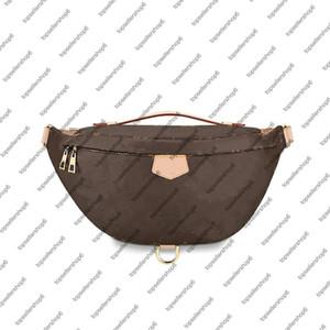 M43644 Bumbag Clássico Cinto de Lona Bag Cross-Body Genunie Genunie Couro De Couro Luruxy Designer Homens Mulheres Sacos De Ombro Bolsas De Cintura Bolsa Bolsa 19 Cores