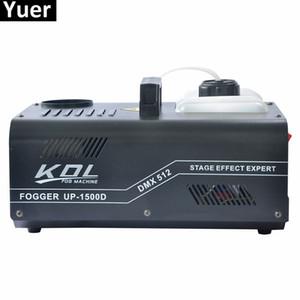 Equipo de iluminación de efectos de escenario 1500W DMX SMOKE MACHINE Mist efecto de efecto de niebla 110V-240V DMX512 Control para disco DJ KTV Party Spray Up