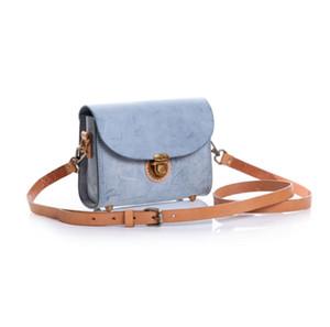 transporte livre altamente recomendado alta qualidade genuína senhoras de couro bolsa saco crossbody pochette Metis bolsa de ombro