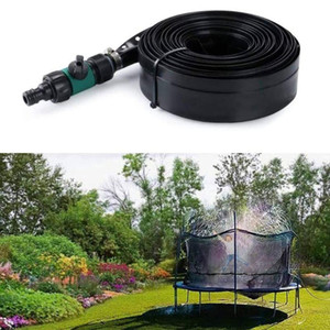 Estate Outdoor spruzzatore per bambini Trampolino Water Park Accessori spruzzatore per Garden Backyard Trampolino