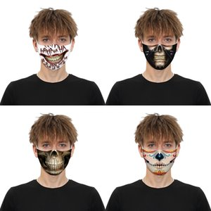 Forza arabe Drapeau de l'Espagne Imprimer Masque Visage Masques continuer à nous battre pour adultes Tissu adulte Masque 165 Preuve # Lavable