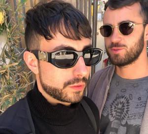 Les nouvelles lunettes de soleil hommes de Medusa de mode pour femmes cadre planche lunettes de qualité supérieure de lunettes lunettes de soleil hommes de style d'été