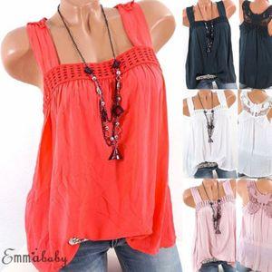 Donne Hollow Sexy Out Back canotta T-shirt della farfalla del merletto Crochet maglia delle donne di carro armato T-Shirt Top
