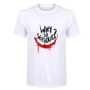 Showtly Joker Joaquin Phoenix T Shirt Short Sleeve Boy girl kids Top Tees Men Why So Serious T-shirt Funny Horror Satan Tees