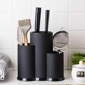Многофункциональный держатель Utensil нож Блок PP Flatware Drainer Storage Box Ложка Вилка кухни Организатор Стеллаж кухонный инвентарь