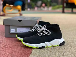 2019 mocassins de moda de Marca Homens Mulheres Sapatos de corrida para corredor de velocidade mens saltos de fundo verde ténis novos treinadores de Basquetebol chegada