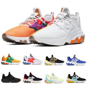 2020 Hot Reagire Presto TRAVI Uomini Donne scarpe da corsa DHARMA triple nero mens colazione Teal Tint allenatore sport all'aria aperta scarpe da ginnastica corridore