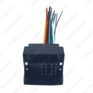 atacado Stereo Car Audio Rádio Amplificador interface Fio para Audi / BWM / Volkswagen / Mini / rodeio Instalar DVD Stereo Aftermarket CD / # 3033