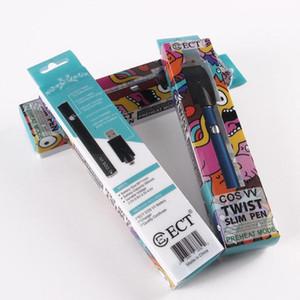 100 % 원래 ECT cos VV 예열 배터리 380mAh vape 펜 가변 전압 2.0-2.6-3.3-4.0V 대 트위스트 배터리 3