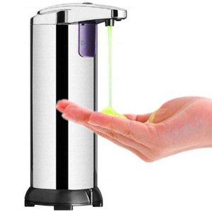 Automatic Soap Dispenser infrarosso Touchless Movimento Bagno Dispenser Smart Sensor Liquid sapone dell'acciaio inossidabile Dispenser DDA98