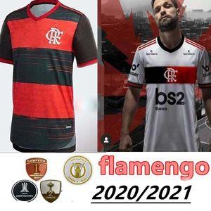 nueva Camisa 2020 2021 CR Flamengo Jersey 20 21 flamenca GABRIEL DIEGO B. VINICIUS JR Versión fútbol jerseys Brasil camisa de fútbol kit