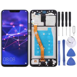 Écran LCD et Digitizer Assemblée réunie avec cadre pour Huawei Maté 20 Lite / Maimang 7