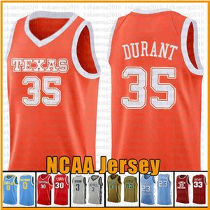 35 Kevin 23 Culver Durant Texas Tech Red Raider NCAA Colleveje Basquete Jersey Bordado 23 2 Leonard 3 Wade 11 Irving 30 Curry