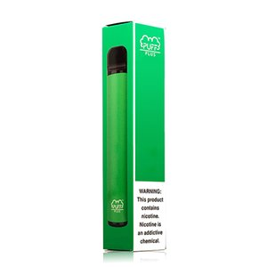 Dropship New arriva 13 different types Puff Disposable PUFF PLUS Cartridges 550mAh Battery 3.2ml