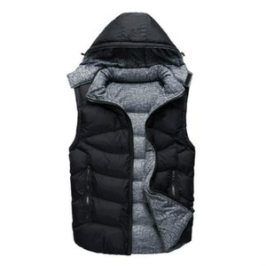 New Style Designe Jacket Mens Fashion Down Coat Jackets with White Duck Down Vest Collar Men's Brand Designer Jacket Coat Down Sleeveless
