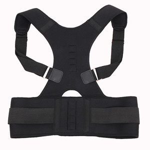 Корректор осанки тела магнитной терапии Brace Back Back Back Poind для мужчин Женские брекеты Поддерживает ремень плечо Posture WCW405