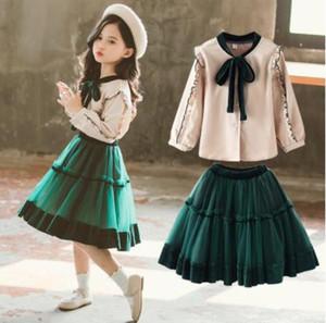Toddler Girls Spring Clothes Set 2019 Girls Kids Clothes Set 2 Pcs Girls Clothing Sets For Teenage Suits Blouses Shirts + Skirts