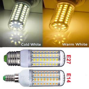 5W 10W 15W 220V 360 угол светодиодные лампы SMD5730 E27 E14 светодиодные лампы, светодиодные Кукуруза света для домашнего декора