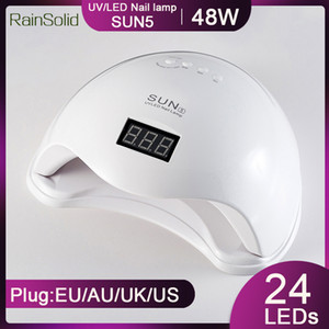 RainSolid sun5 48W Nagel-Trockner UV-LED-Lampe für Nagel-Curing-Gel-Polnisches Schnelltrocknung mit Auto Sensor Maniküre Salon Lampe