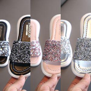 Girls Children children children's ' outdoor slippers 2020 girls' outdoor medium and large children's slippers parent-child shoes