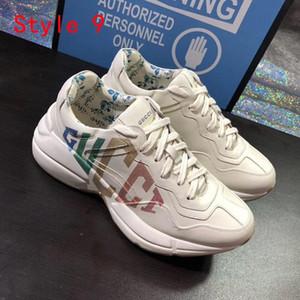 Luxusmode Alte Schuhe Druck Leder Superstars beiläufige Basketball-Turnschuhe Paar Modelle Trainer und Outdoor-Schuhe Größe 35-45