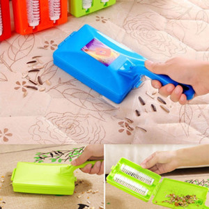 НОВЫЙ Carpet Brush Collector Ручная Подметальная Машина Dirt Home Kitchen Cleaner