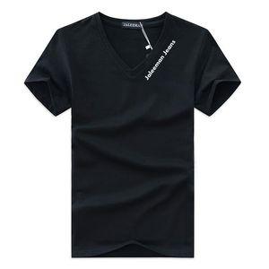 Sonderangebot Männer-T-Shirts mit V-Ausschnitt in Übergrößen S-5xl T-Shirt Männer Sommer Kurzarmhemden Marke T Man Kleidung Camiseta