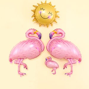 Unicorn Flamingo Aluminum Film Balloon Baby Birthday Wedding Party Decoration Decorative Supplies My Little Foil Balloon